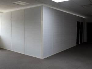 Cloisons Mobiles : les cloisons pleines toute hauteur aluminium espace ~ Melissatoandfro.com Idées de Décoration