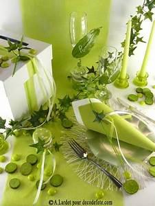 Chemin De Table Vert : 10m chemin de table sublim vert anis bonheur tables et couleur ~ Teatrodelosmanantiales.com Idées de Décoration