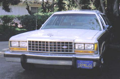 1986 ford crown country squire woody 8 passenger station wagon tow pkg for sale in san