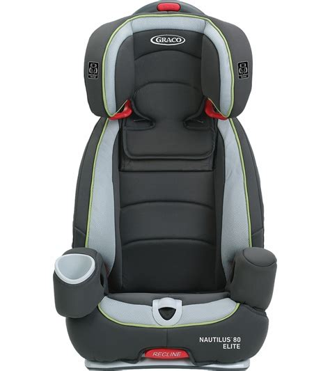 siege auto graco nautilus graco nautilus 80 elite 3 in 1 car seat go green