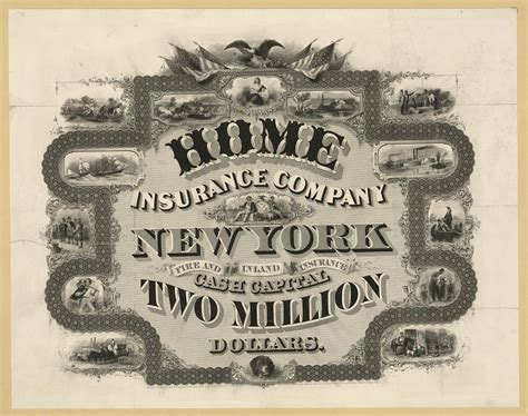 Home Insurance Company, New York ... Cash Capital Two