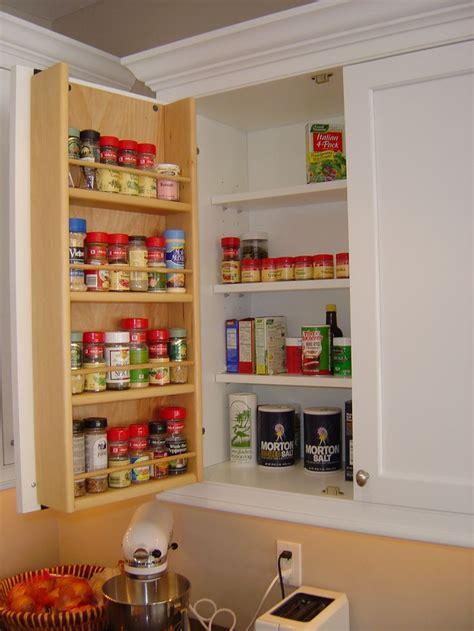 tedd wood spice storage    cabinet door storage organization pinterest spice