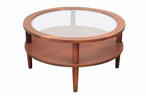 Coffee table round glass top coffee table on casters for Glass top coffee table with wheels