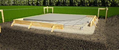 isoler sol garage pour faire chambre construire une fondation pour votre remise 1 rona