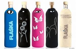 Trinkflasche Glas Kind : trinkflasche aus glas mit swarovski elements vickyliebtdich ~ Watch28wear.com Haus und Dekorationen