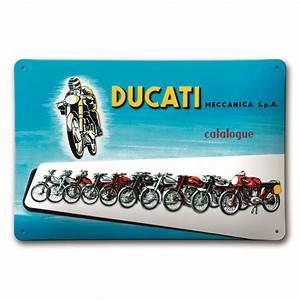 Plaque De Metal : plaque m tal ducati meccanica s team motos ~ Teatrodelosmanantiales.com Idées de Décoration