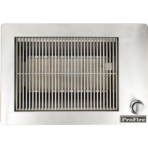 indoor gas grill profire 30 inch indoor natural gas grill pfindoor ng bbq guys