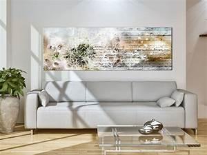 wandbilder xxl pusteblume leinwand bilder xxl natur With wandbilder wohnzimmer xxl