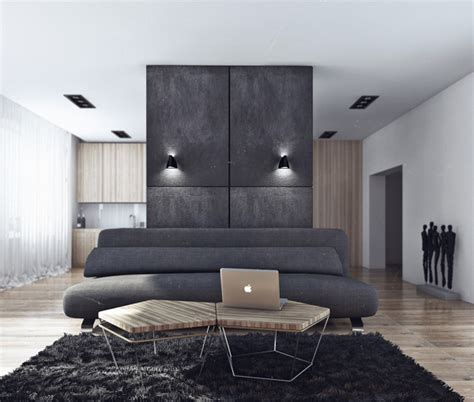 Bachelor Appartment by Minimalist Design Living In Style As A Bachelor