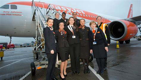 Easy Jet Cabin Crew Easyjet Celebrates International S Day 2017 With All