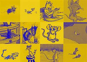 Quiz: Match the illustrated mouse to the children's storybook.