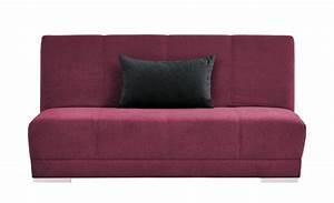 Schlafsofa 140 Cm : smart schlafsofa emmelie breite 140 cm h he 86 cm rot ~ Watch28wear.com Haus und Dekorationen