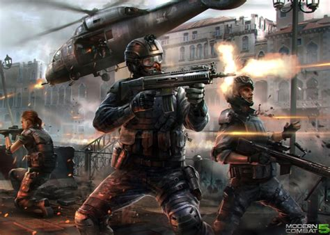 modern combat 5 e3 trailer unveiled by gameloft