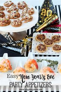 Easy New Year's Eve Party Appetizers