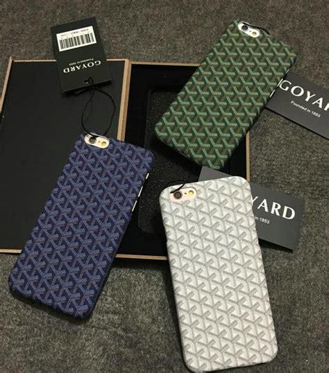 goyard iphone buy personalized goyard leather pattern cases