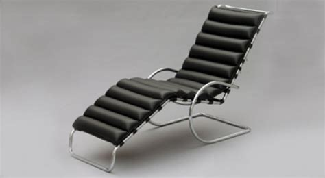 chaise longue interieur mr chaise lounge ludwig mies der rohe bauhaus italy