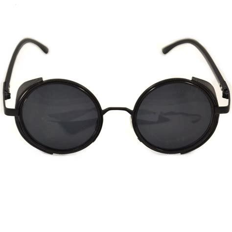 Steampunk Glasses Black Frames