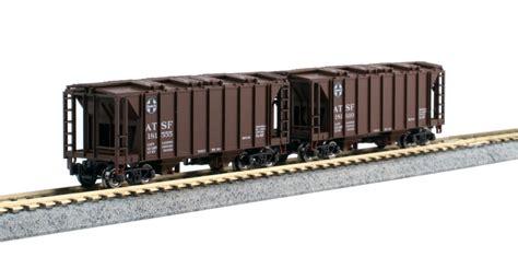 scale acf  ton closed side hoppers precision railroad
