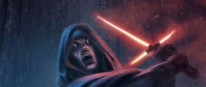 Wars Star Dual Monitor Screen Lightsaber Sith
