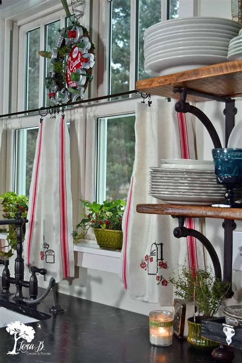 easy diy cafe curtains add cozy privacy to your windows