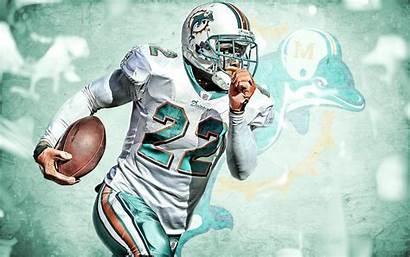 Dolphins Miami Reggie Bush Nfl Wallpapers Background