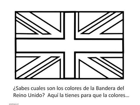 Banderas Para Colorear De Inglaterra