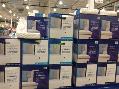 serenity  tempur pedic mattress topper queen  king