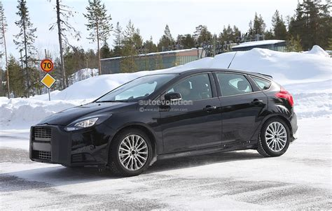 spyshots  ford focus rs autoevolution