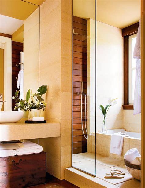 Ванная комната с душевой кабиной, 4 примера дизайна с планами