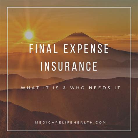 expense final insurance