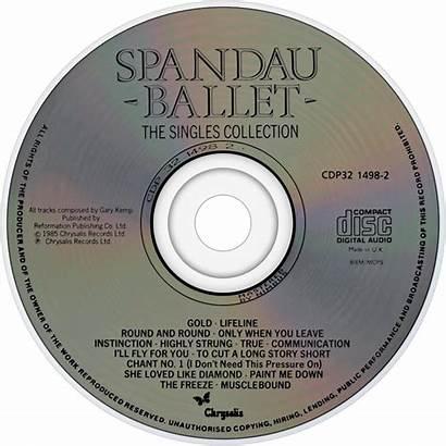 Spandau Ballet Fanart Singles Cd Tv