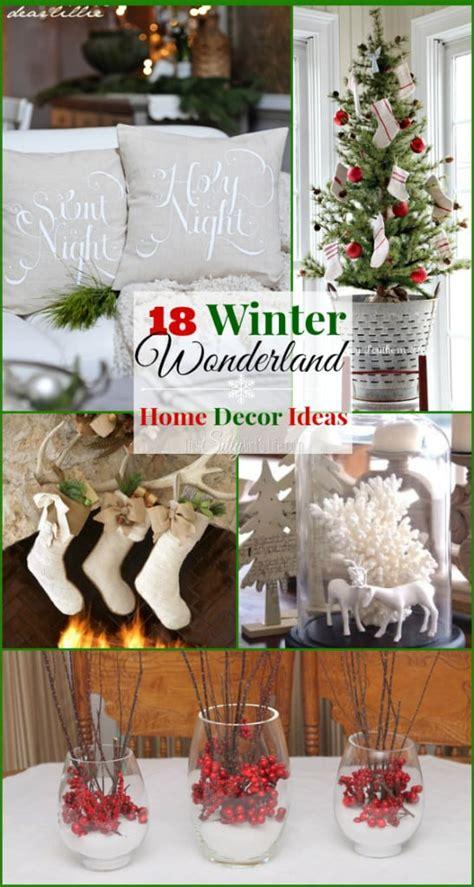 winter wonderland home decor ideas silly girls kitchen