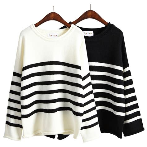 and white striped sweater black and white striped sweaters
