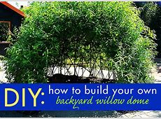 DIY Biotecture Build Your Own Backyard Living Willow
