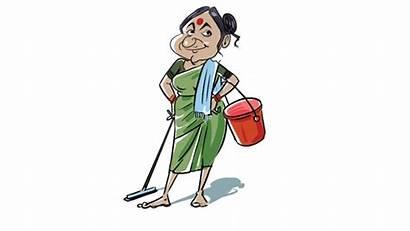 Maid Domestic India Helpers Leave Mumbai Annual