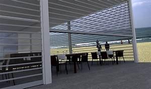 transparence by javey rideau de protection a enroulement With rideau pour terrasse exterieur 17 grilles de protection