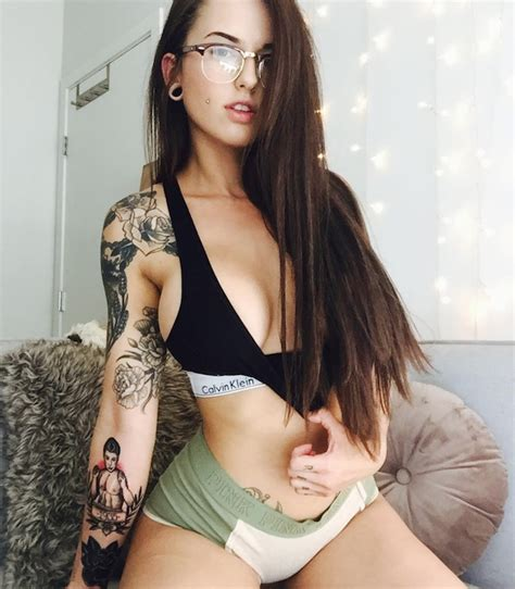 hot girls with tattoos on instagram we just can t get