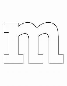 lowercase letter m pattern use the printable outline for With letter patterns for woodworking