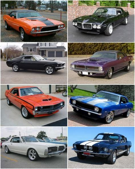 pony cars mustang
