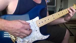 Fender Strat With Seymour Duncan Hot Rails  Bridge  Demo