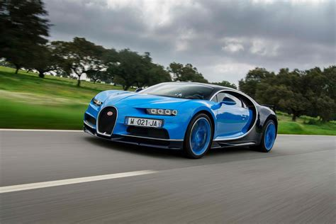 2018 Bugatti Chiron First Drive Review