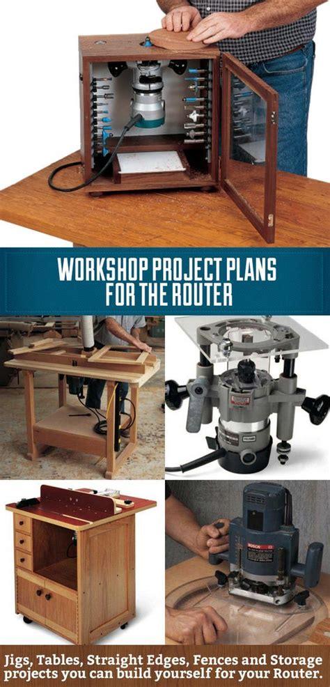 workshop project plans   router  diy router