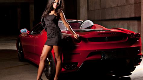 Girl Wallpaper Ferrari 1920x1080, Ferrari Wallpaper Girl