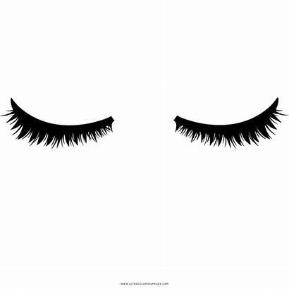 Ojos Cerrados Colorear Occhi Dibujo Coloring Colorare