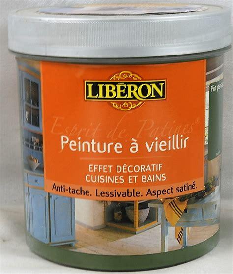 peinture pour meuble de cuisine v33 peinture à vieillir esprit de patines libé 1 l libé