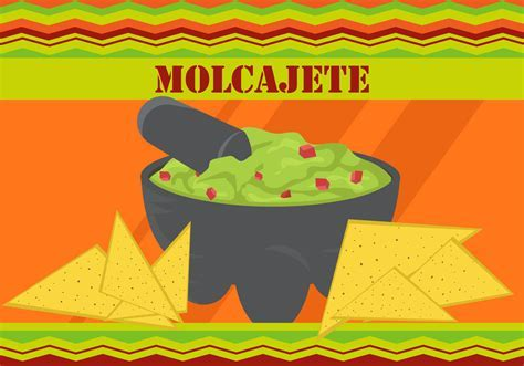 Taco With Molcajete Avocado Sauce   Download Free Vector