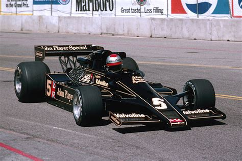 1978 Lotus Dominates, With Mario Andretti And Ronnie