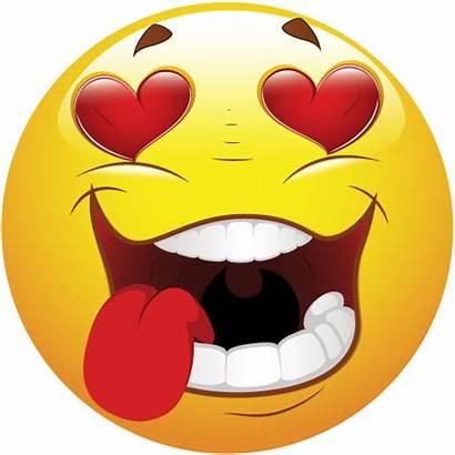 Smiley Heart Emoji Transparent Emoticon Clipart Background