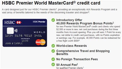 Three Hsbc Credit Cards Have Limited Time Increased Sign