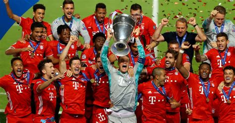 Bayern Munich Wins 6th Champions League Trophy With Close ...